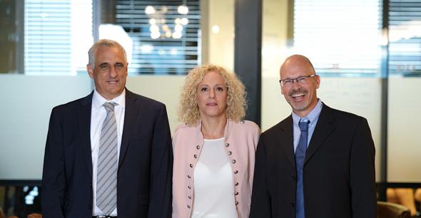 InnoCan co-founders Yoram Drucker, Iris Bincovich and Ron Mayron. Photo: Rotem Lahav