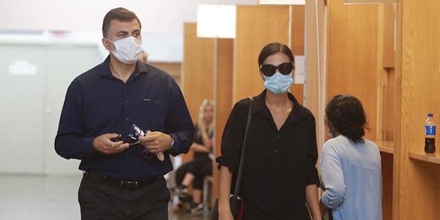 איילה שרח כהן מגיעה לבית המשפט, צילום: אוראל כהן