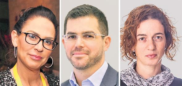 """סמנכ""""לית הכספים ב־MADE פייננס גילת בר, אייל ניב שותף בפיטנגו ומנכ""""לית לאומי טק יפעת אורון"""