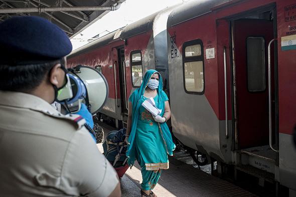 רכבת בהודו