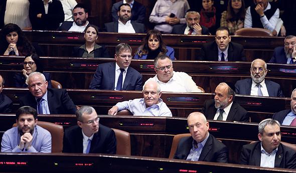 הדיון בהסרת החסינות, צילום: אלכס קולומויסקי