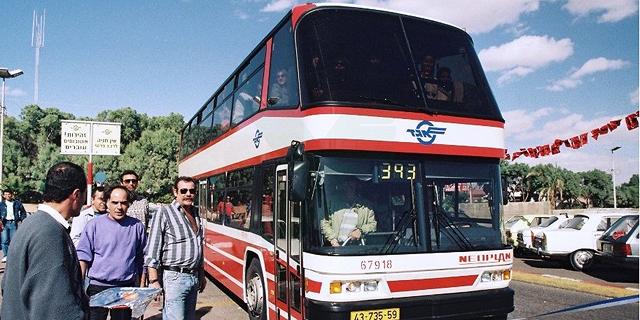 האוטובוסים הדו קומתיים הקודמים של אגד סיימו בעיראק - האם לחדשים מחכה גורל אחר?