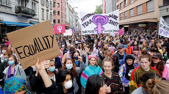 מחאת הנשים בשווייץ