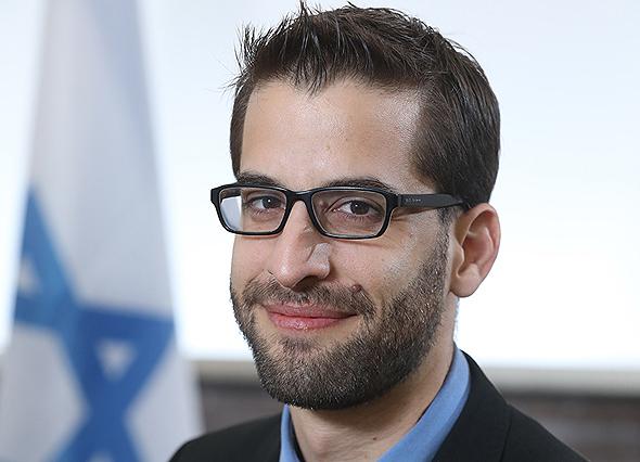 Yoav Saidel, head of Israel's Economic Mission to Singapore. Photo: Gideon Sharon