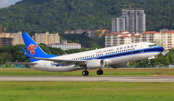 מטוס של צ'יינה סאות'רן איירליינס