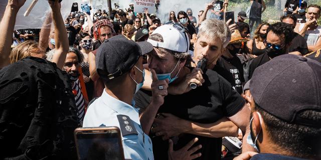 משתתפים בהפגנה, צילום: פרי מנדלבוים