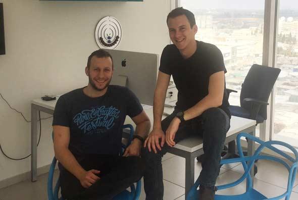 Arbox co-founders Alen Debensason and Ran Lev. Photo: Courtesy