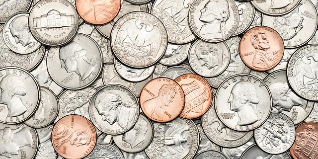 """בנקים בארה""""ב מתלוננים: חסרים לנו מטבעות"""