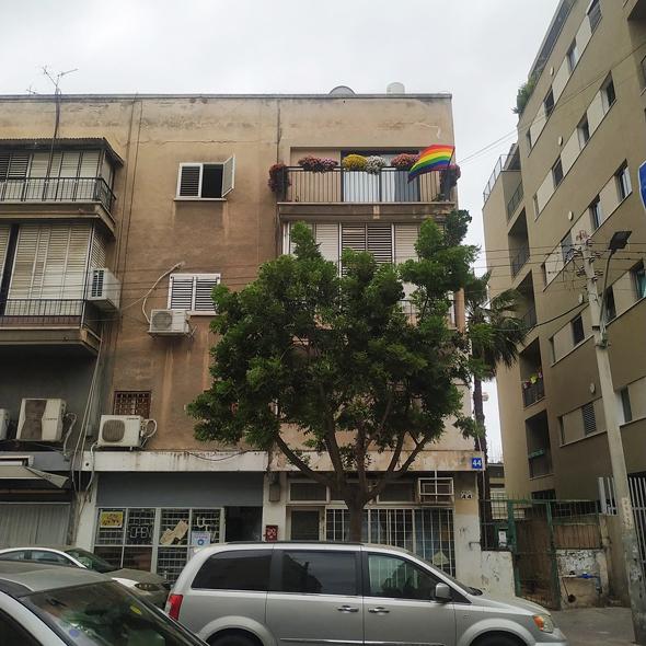 רחוב י.ל פרץ בנווה שאנן: מרכז עולה של גברים הומואים והדרת נשים מהמרחב הציבורי, צילום: איל מגדלוביץ