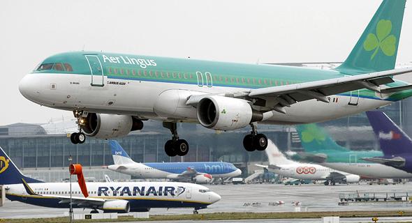 מטוס של חברת אייר לינגוס איירבוס A320, צילום: רויטרס
