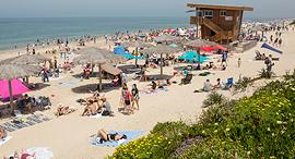 חוף פלמחים בשבת, צילום: תומי הרפז