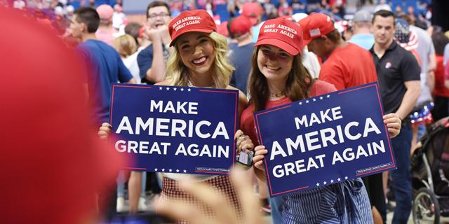 קמפיין דונלד טראמפ לנשיאות ארצות הברית, צילום: אי פי איי