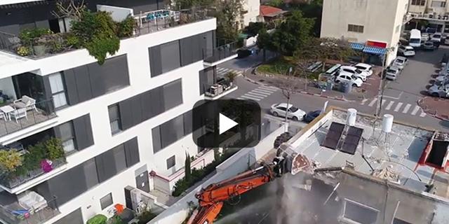 וידאו חוץ תנופה בעיר זירת הנדלן , צילום: דור מנואל