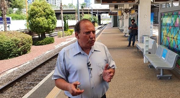 """מיכה מייקסנר מנכ""""ל הרכבת הבוקר, צילום: ליאור גוטמן"""
