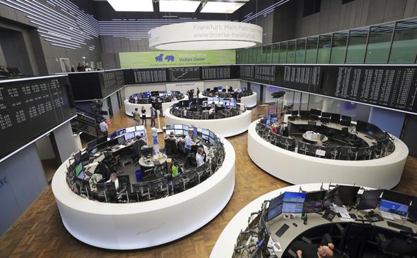 The Frankfurt Exchange. Photo: Bloomberg