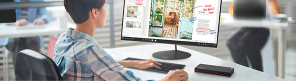 עבודה ממחשב ביתי לנובו, מקור: Lenovo