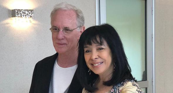 יורם ירזין ואשתו גלי עטרי