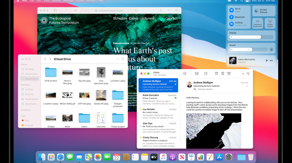 MacOS Big Sur מערכת ההפעלה למק  כנס מפתחים מקוון של אפל, צילום מסך: מתוך WWDC 2020