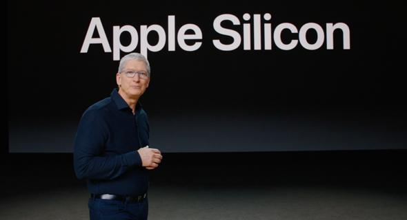 המעבד החדש של אפל Apple Silicon, צילום מסך: מתוך WWDC 2020