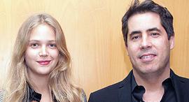 מימין איש העסקים עדי קייזמן ורעייתו הדוגמנית אסתי גינזבורג, צילום: אוראל כהן