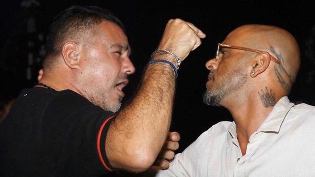 מימין: אייל גולן ובני פרץ, צילום: אמיר מאירי