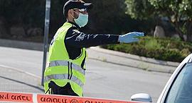 מחסום משטרתי, צילום: דוברות המשטרה