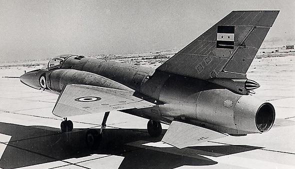 מטוס ה-HA300 מאחור