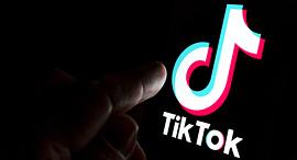 TikTok app logo אפליקציית טיקטוק, צילום: שאטרסטוק