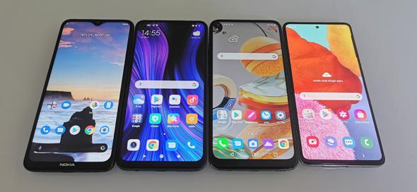 מכשירים מתחת לאלף שקל: סמסונג, LG, נוקיה ורדמי