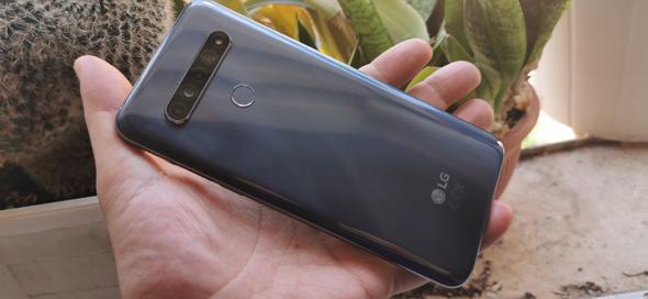LG K61 גב מכשיר