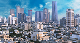 Tel Aviv Business Center. Photo: Shutterstock