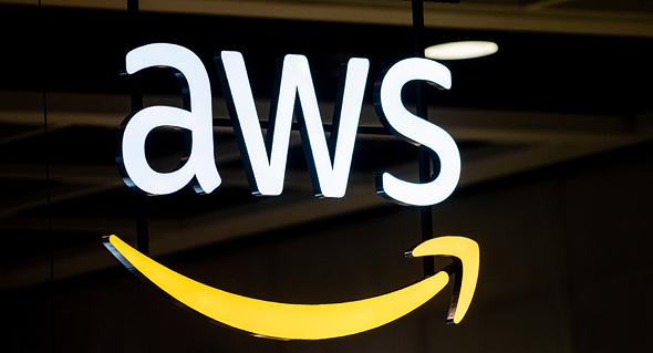 Amazon Web Services AWS logo שירות האינטרנט של אמזון, צילום: שאטרסטוק