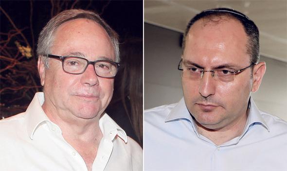 מימין מוטי בן משה ו יאיר המבורגר, צילומים: דנה קופל, אוראל כהן