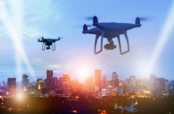 Drones. Photo: Shutterstock