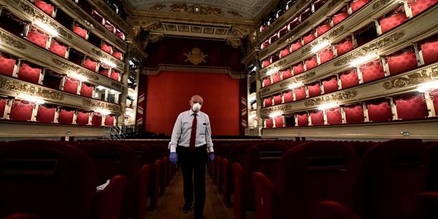 המכה של האופרה: אולם לה סקאלה במילאנו נפתח מחדש