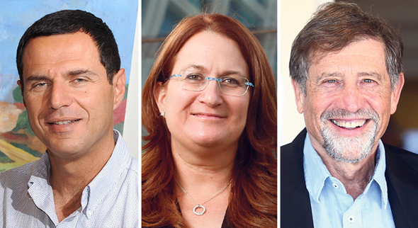 מימין נתי סיידוף דנה עזריאלי ו רונן בראל, צילומים: עמית שעל, אוראל כהן, יובל חן