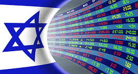 TASE בורסה מניות Tel Aviv stock market, Credit: Shutterstock