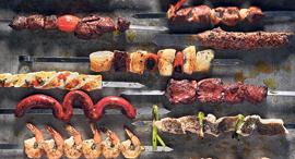 פנאי בצלאל מסעדה גריל שיפודים, צילום: אנטולי מיכאלו