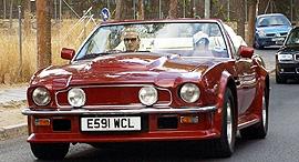 אסטון מרטין V8 Volante דיוויד בקהאם למכירה 1, צילום: Aston Martin Works