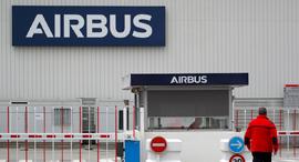מפעל איירבוס איירבס Airbus  נאנט צרפת פיטורים, צילום: רויטרס