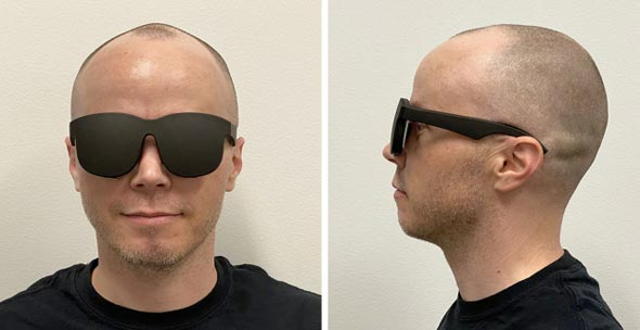 משקפי VR של פייסבוק ו Oculus