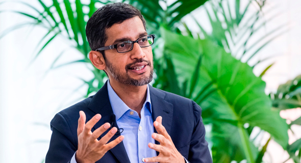 Google CEO Sundar Pichai. Photo: Bloomberg