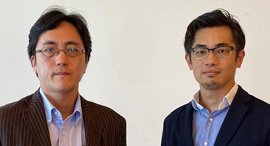 Minister Kazuhiko Nakamura and attaché Motoki Kurita of the Embassy of Japan. Photo: Courtesy