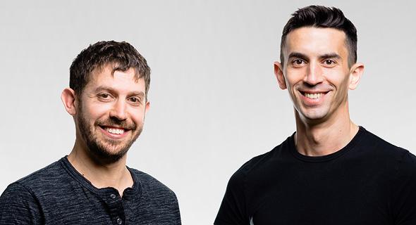 Curv co-founders Itay Malinger (right) and Dan Yadlin. Photo: Nethanial Tobias