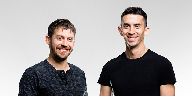 Curv co-founders Itay Malinger (right) and Dan Yadlin. Photo: Nethanial Tobias