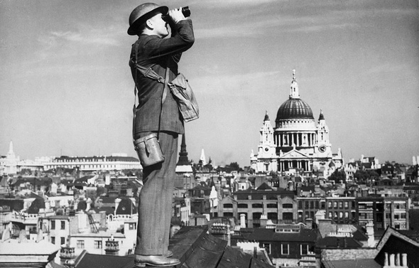 תצפיתן על גג בלונדון, צילום: Wikimedia