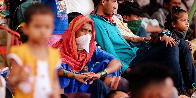 קורונה בהודו, צילום: איי אף פי