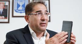 """נתי כהן מנכ""""ל משרד התקשורת היוצא, צילום: אוראל כהן"""