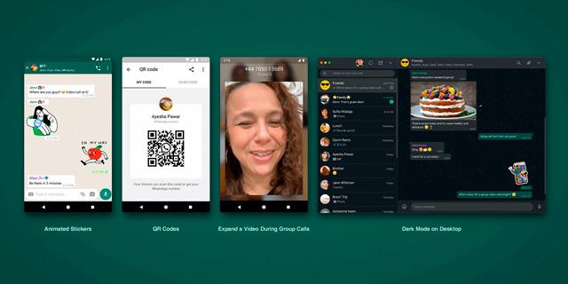 עדכונים חדשים בווטסאפ, צילום:  Whatsapp