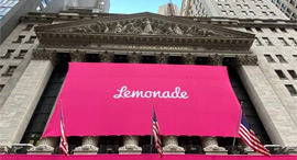 Lemonade's NYSE IPO. Photo: Facebook
